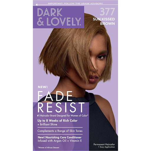 Dark And Lovely Hair Color Kit Sun Kissed Brown