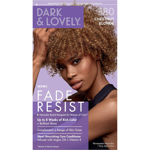 Dark And Lovely Hair Color Kit Chestnut Blonde