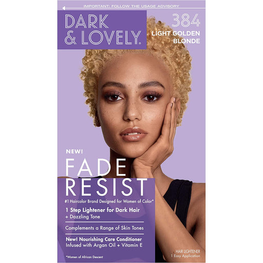Dark And Lovely Hair Color Kit Light Golden Blonde