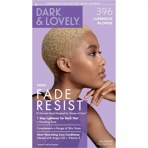 Dark And Lovely Hair Color Kit Luminous Blonde