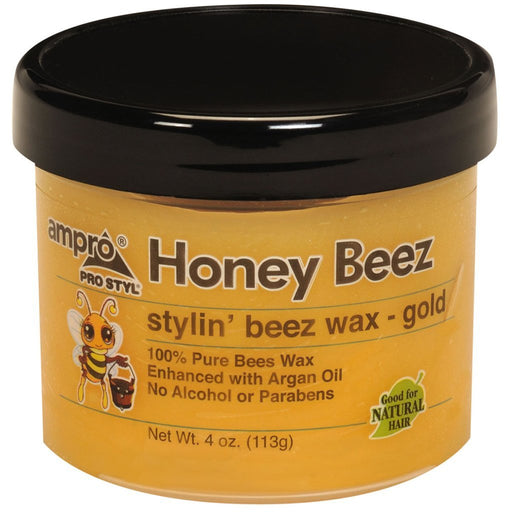 Ampro Honey Beez Stylin Beez Waxgold, 4 Oz.