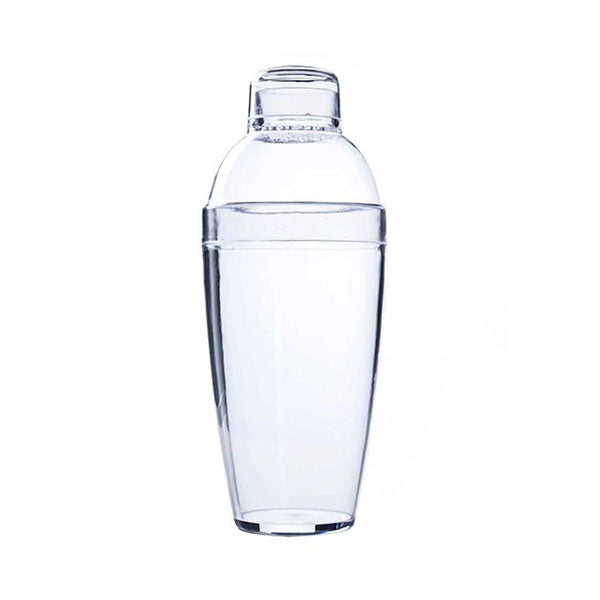 Clear 14 oz Plastic  Cocktail Shaker