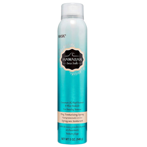 Hask Hawaiian Sea Salt Dry Texturizing Hair Spray With Coconut Oil & Pearl 5 oz.