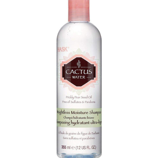 Hask Cactus Water Weightless Moisture Shampoo with Prickly Pear Seed Oil 12 oz.