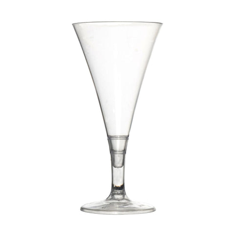 Clear 2 oz Tyny 2 Pieces Plastic Champagne Flutes