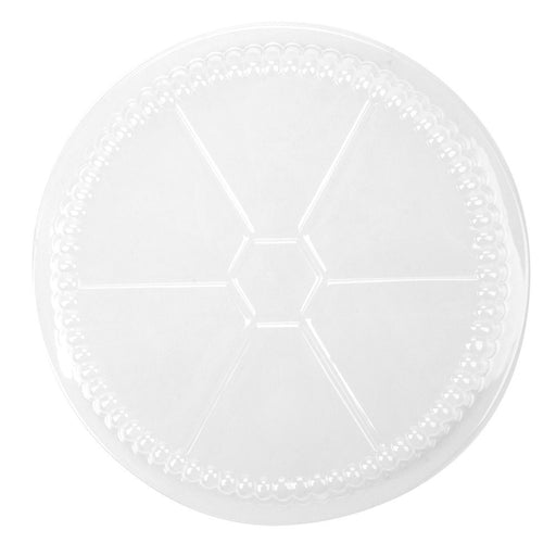 Plastic Dome Lid for 9 Inch Aluminum Containers