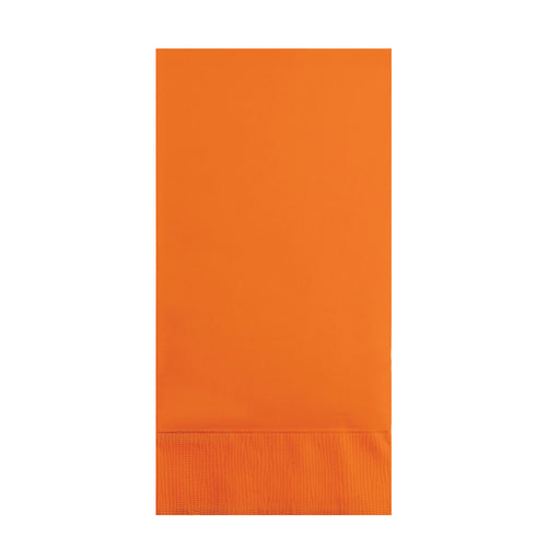 Sunkissed Orange 3 Ply Guest Napkins