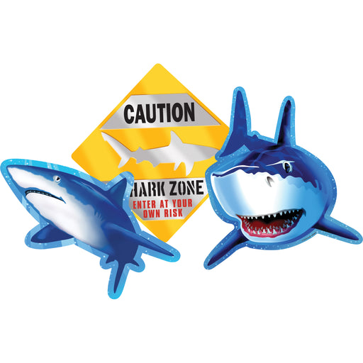 Cutout Assortment Shark Splash