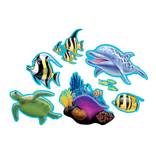 Cutout Assortment Ocean Party