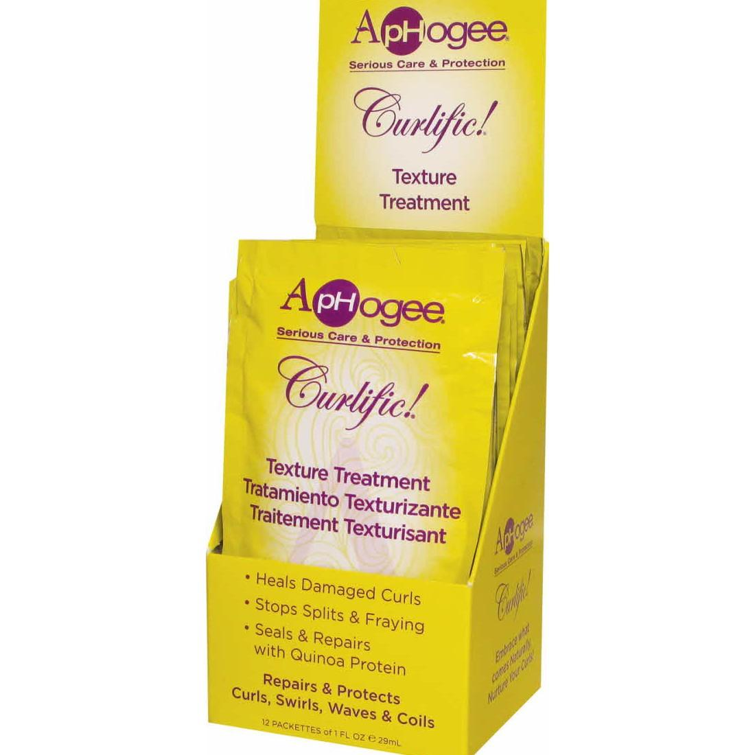 Aphogee Curlific Texture Treatment Packet
