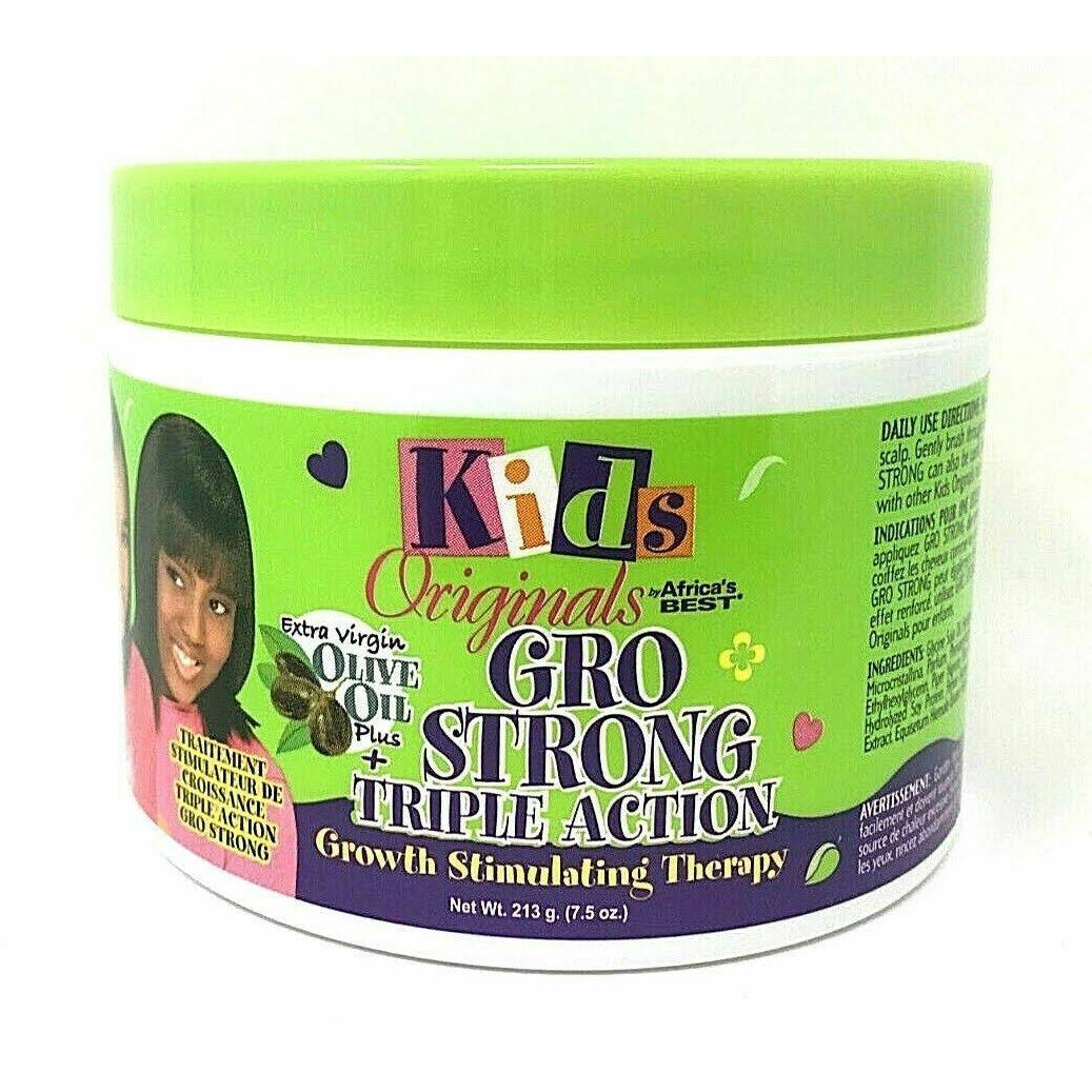 Africa's Best Kids Organics Gro Strong Triple Action Growth Stimulating Therapy, 7.5 Oz