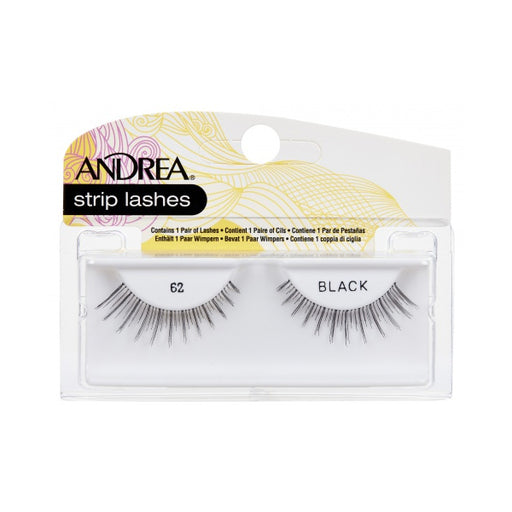Andrea Strip Lashes, 62 Black