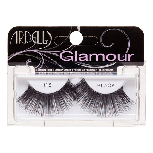 Ardell Glamour Lightweight Lashes, 115 Black