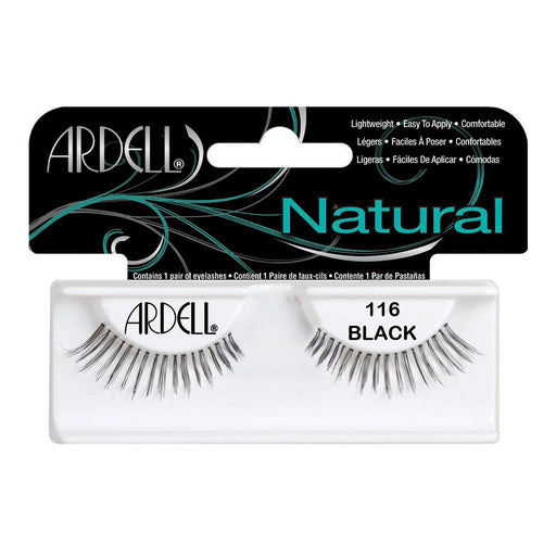 Ardell Professional Natural Lightweight Lashes, 116 Black