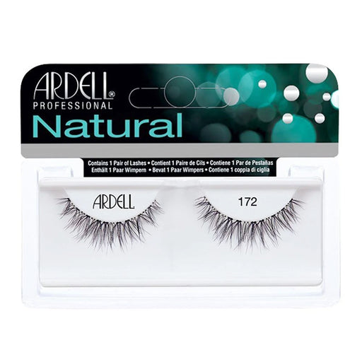Ardell Professional Natural Lightweight Lashes, 172 Black