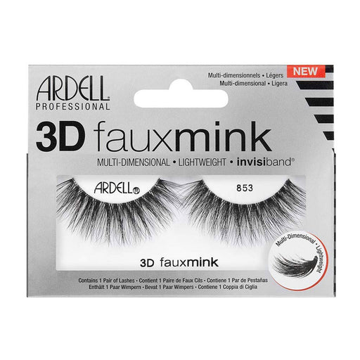 Ardell Professional Eyelashes 3D Faux Mink , 854 Black