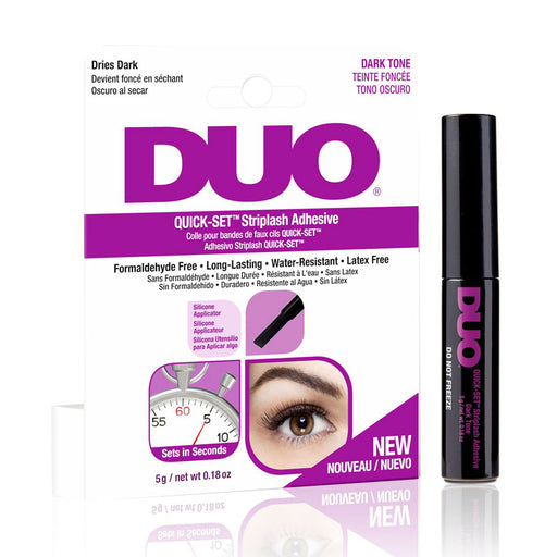 Ardell Duo Adhesive Quick Set Striplash Adhesive, Dark Tone, 0.18 Oz.