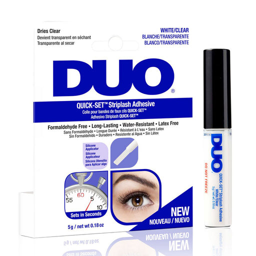 Ardell Duo Adhesive Quick Set Striplash Adhesive, White/Clear, 0.18 Oz.