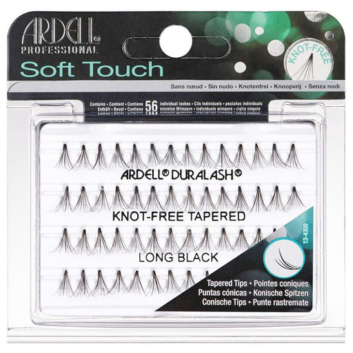 Ardell Individual Soft Touch Knot Free Tapered Black Long