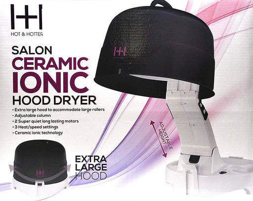 Hot & Hotter Salon Ceramic Ionic Extra Large Hood Dryer
