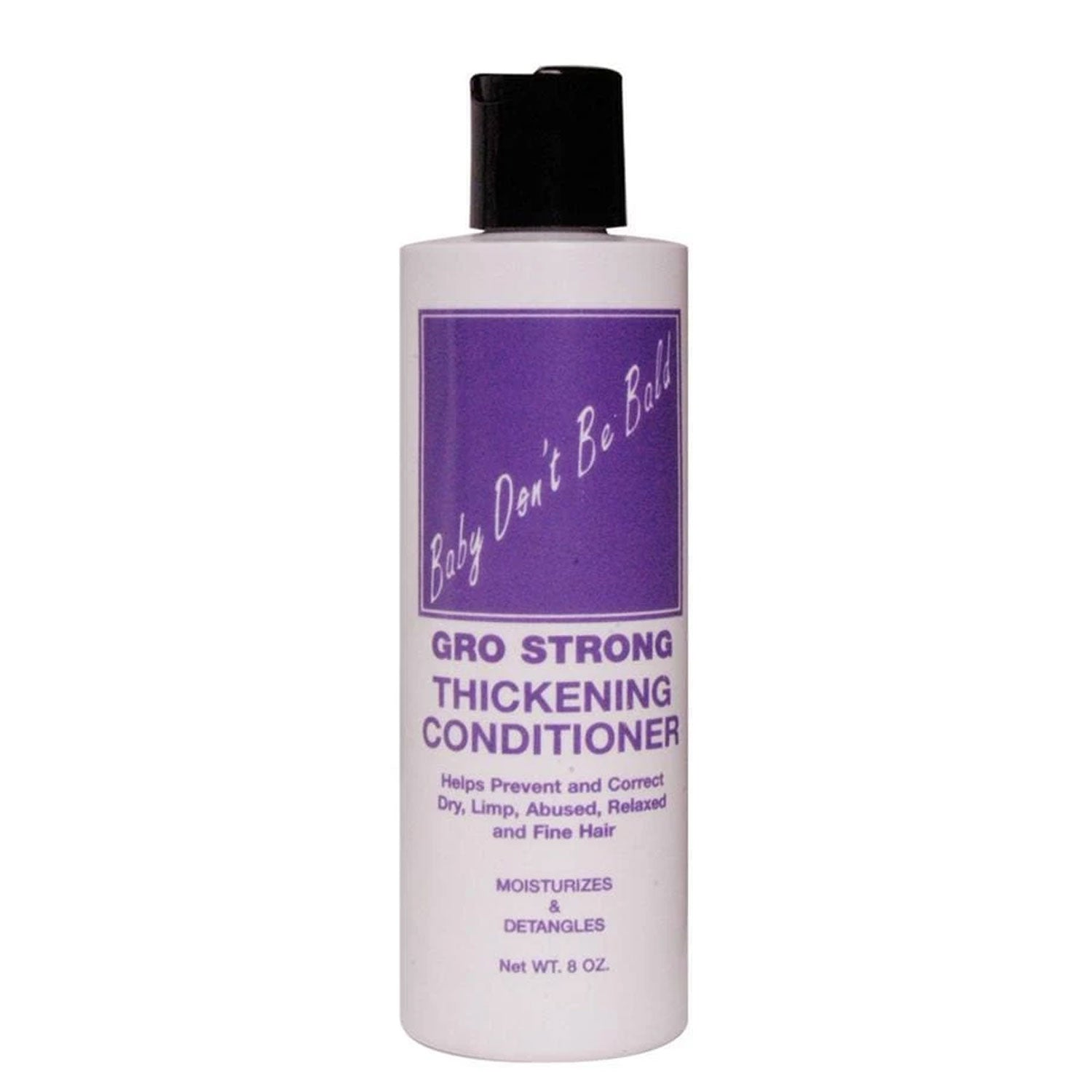 Baby Don't Be Bald Gro Strong Thickening Conditioner, 8 Oz.