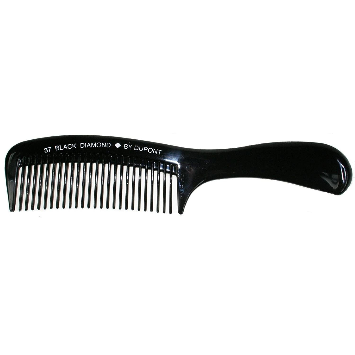 "Black Diamond 9"" Shampoo Rake Comb"
