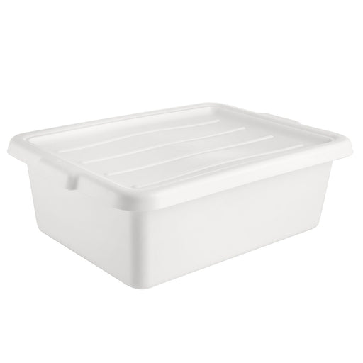Cover Bus Box White for BTDB Series, Polyethylene, White