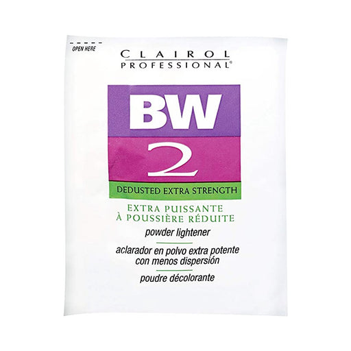 Clairol Professional BW2 Powder Lightener Packet, Extra Strength, 1  Oz.