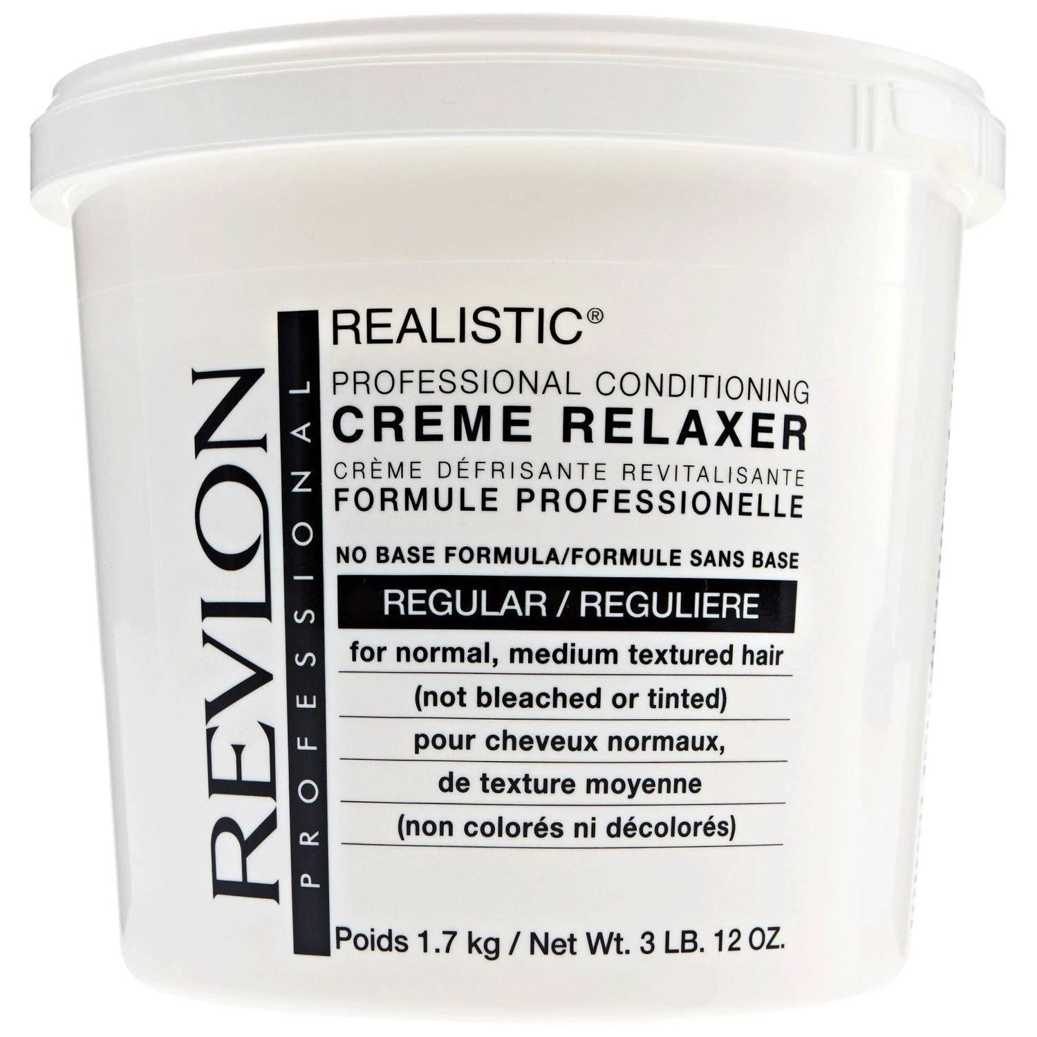 Revlon Realistic Conditioning Creme Relaxer No Base Regular 60 Oz.