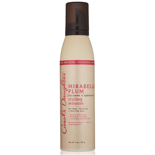 Carol's Daughter Mirabelle Plum Fullness and Hydration Styling Mousse, 7 Oz.