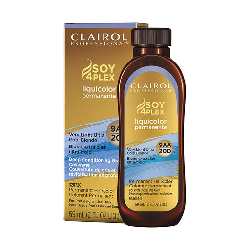 Clairol Liquicolor Permanente, 9AA/20D Very Light Ultra Cool Blonde, 2  Oz.