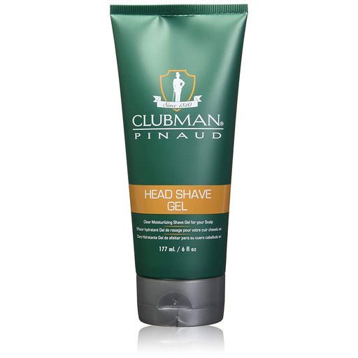 Clubman Pinaud Head Shave Gel, 6 Oz.