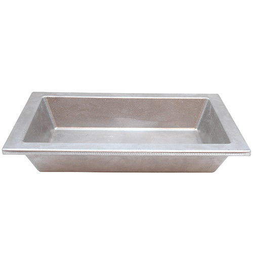 "Tablecraft Aurora 1.5 Qt. Medium Pan with Lip, 7 1/4""L x 11 1/4""W x 2""H"