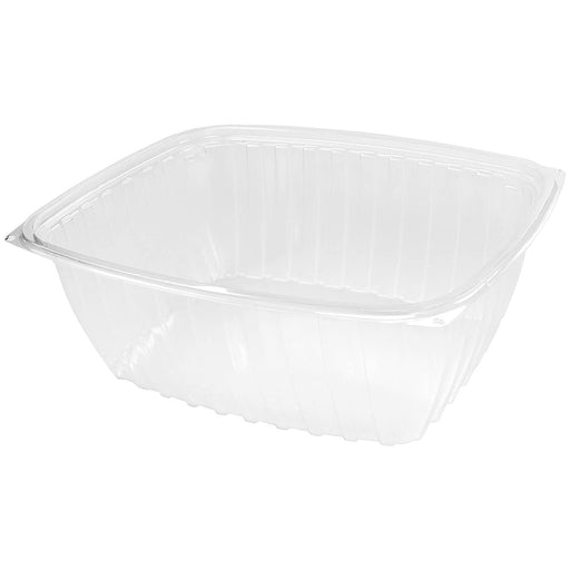64 OZ Clear Rectangular Containers