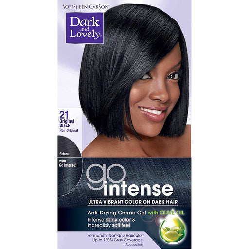 Dark And Lovely Hair Color Go Intense Original Black