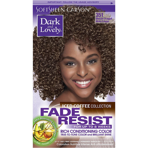 Dark And Lovely Hair Color Kit Ice Coffe Mocha Frappe