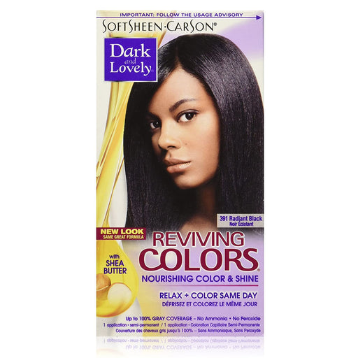 Dark And Lovely Reviving Hair Color Radiant Black