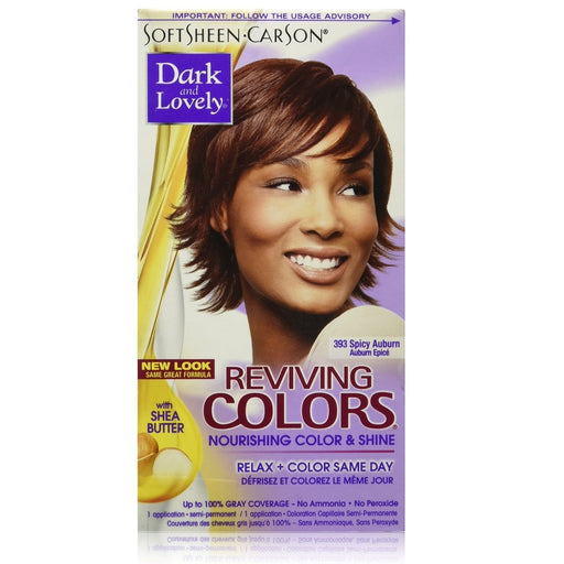 Dark And Lovely Reviving Hair Color Spiced Auburn