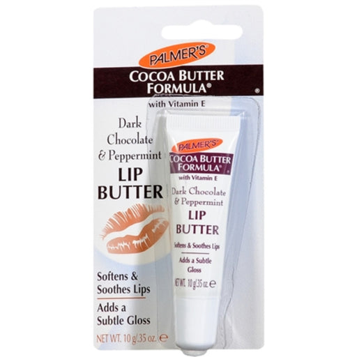 Palmer's Cocoa Butter Formula Dark Chocolate & Peppermint Lip Butter 0.35 Oz