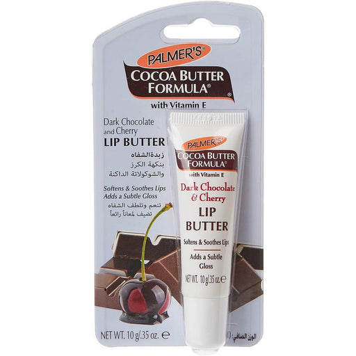 Palmer's Cocoa Butter Formula Dark Chocolate & Cherry Lip Butter, .35 Oz