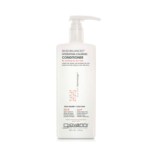 Giovanni 50:50 Balanced Hydrating Calming Conditioner 24 Oz