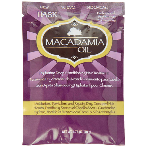 Hask Macadamia Oil Deep Conditioning Hair Treatment Packet