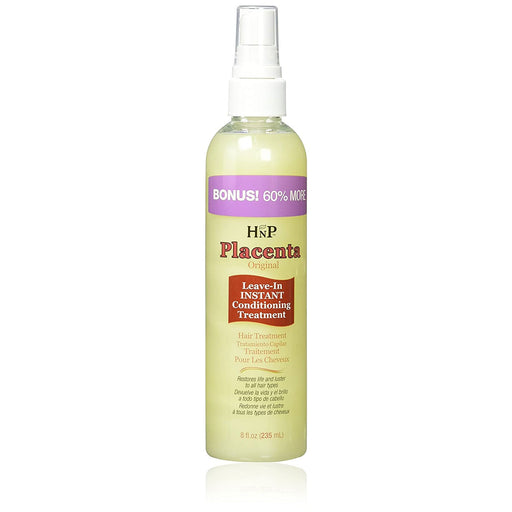 Hask Placenta Original Leave In Instant Conditioning Treatment 8 Oz