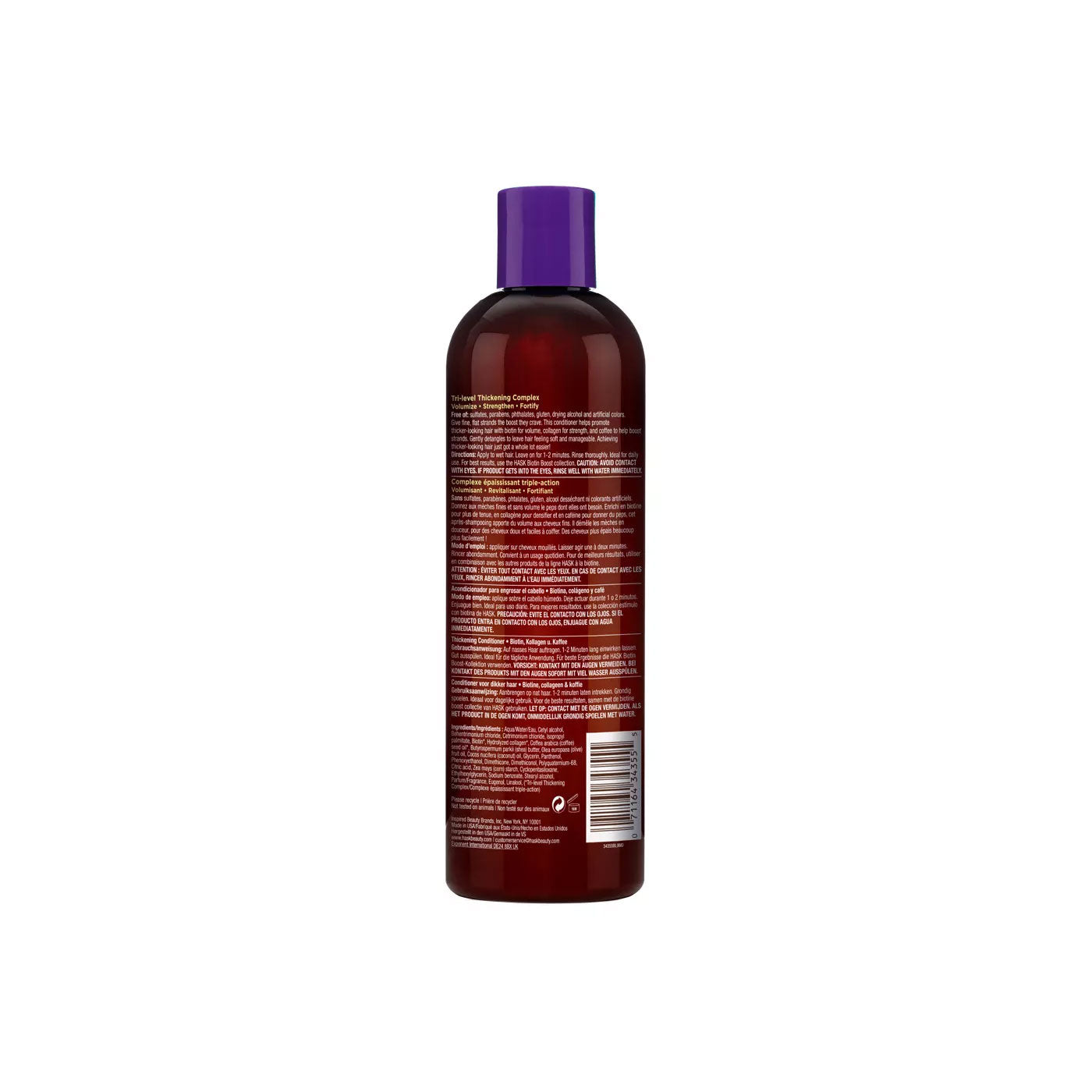 Hask Biotin Boost Thickening Conditioner 12 Oz