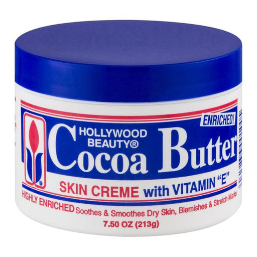 Hollywood Skin Creme, Cocoa Butter, 7.5 Oz.