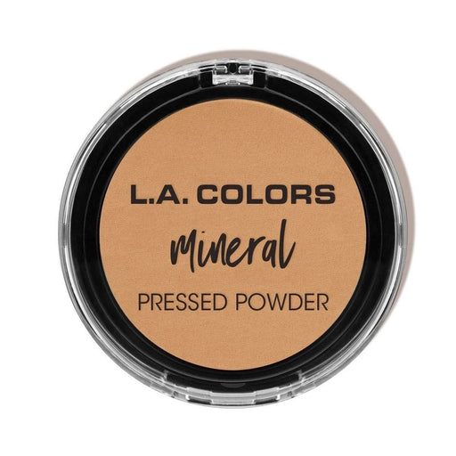 La Colors Mineral Pressed Powder, Cmp377 Classic Tan