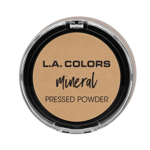 La Colors Mineral Pressed Powder, Cmp378 Warm Caramel