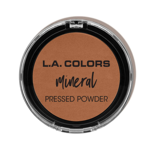 La Girl Colors Mineral Pressed Powder, Toasted Almond