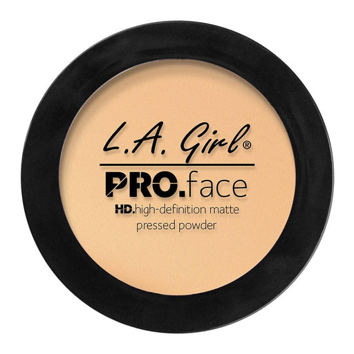 La Girl Pro.Face Matte Pressed Powder Creamy Natural