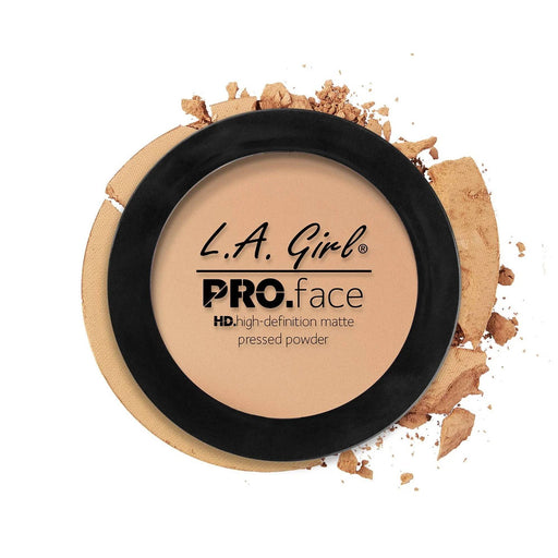 La Girl Pro Face Powder Nude Beige